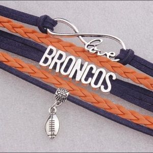 🏈 Broncos football bracelet 🏈